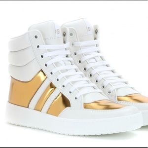 Gucci Leather Hight Top Sneaks